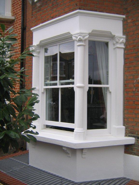 White Bay Box Sash Window